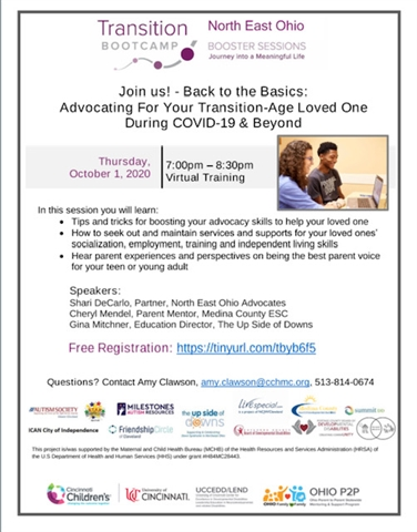 Back to the Basics: Advocating For Your Transition-Age Loved One During COVID-19 & Beyond